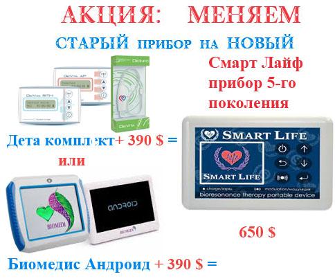 АКЦИЯ Меняем СтарыЕ приборы на НовыЕ Смарт Лайф