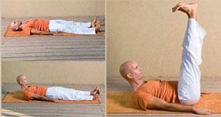 Тибетское упражнение №2 из комплекса