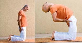 Тибетское упражнение №3 из комплекса