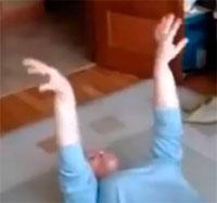 № 9 Упражнение для рук и ногТибетской гормональной гимнастики