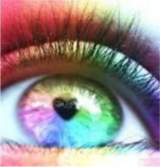 Светоч, воздействуя светом и цветом через орган зрения